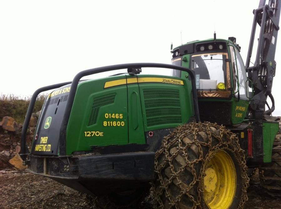 Jim Wilmer & Sons add Another John Deere 1270E
