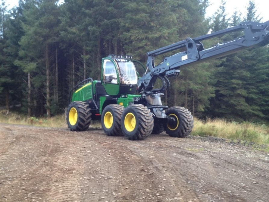 Another John Deere 1270E added to boost production on Balcas Contract in Kintyre